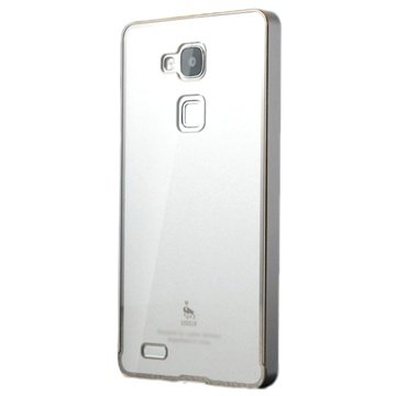 Huawei Ascend Mate7 Luphie Hybrid Cover Zilver