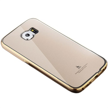 Samsung Galaxy S6 Luphie Hybrid Cover Goud