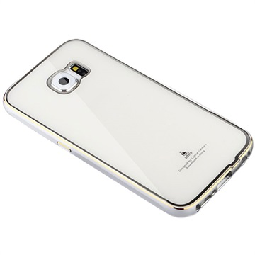 Samsung Galaxy S6 Luphie Hybrid Cover Zilver