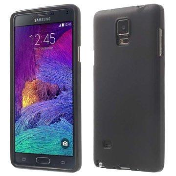 Samsung Galaxy Note 4 Flex TPU Case Zwart