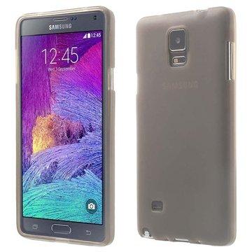 Samsung Galaxy Note 4 Flex TPU Case Grijs