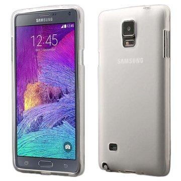 Samsung Galaxy Note 4 Flex TPU Case Doorzichtig