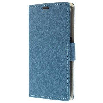 Samsung Galaxy S6 Maze Wallet Hoesje Blauw