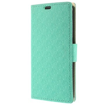 Samsung Galaxy S6 Maze Wallet Hoesje Cyan