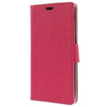 Samsung Galaxy S6 Maze Wallet Hoesje Hot Pink
