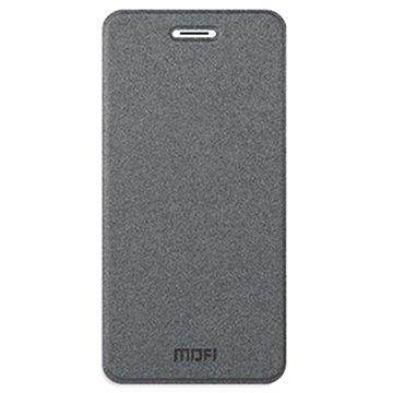 iPhone 6 Plus / 6S Plus Mofi Rui Series Flip Leren Case Grijs