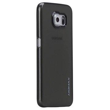 Samsung Galaxy S6 Momax Ultra Dun Serie Harde Cover - Clear Breeze Doorzichtig Zwart