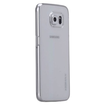 Samsung Galaxy S6 Momax Ultra Dun Serie Harde Cover - Clear Breeze Wit