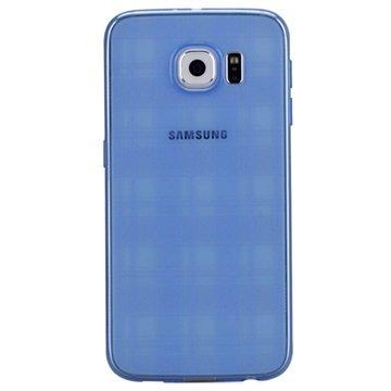 Samsung Galaxy S6 Momax Ultra Dun Serie TPU Case Blauw