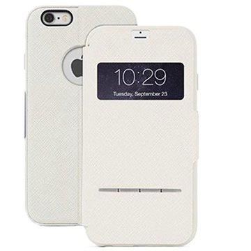 iPhone 6 Plus / 6S Plus Moshi SenseCover Flip Case Beige