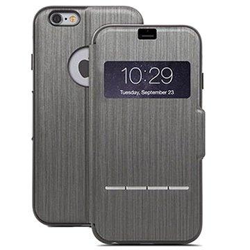 iPhone 6 Plus / 6S Plus Moshi SenseCover Flip Case Zwart