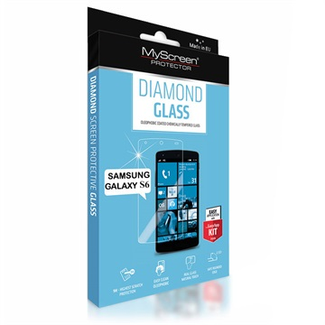 Samsung Galaxy S6 MyScreen Diamond Glass Displayfolie