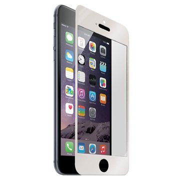 iPhone 6 Plus / 6S Plus Naztech Tempered Glass Displayfolie Zilver