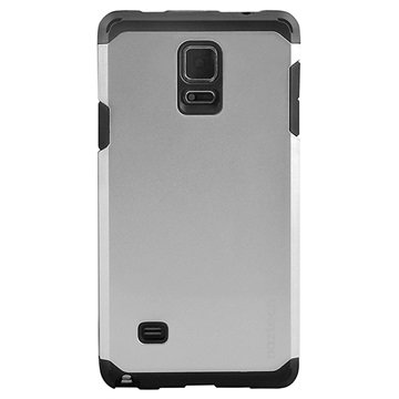 Samsung Galaxy Note 4 Naztech X Dual-Layered Cover Zilver