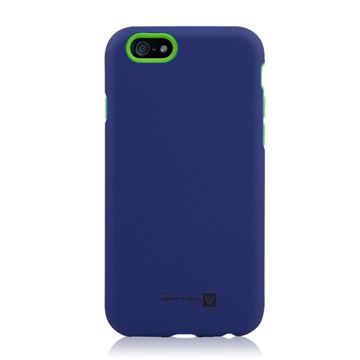 iPhone 6 Plus / 6S Plus Naztech Vertex 3-Layer Cover Groen / Blauw
