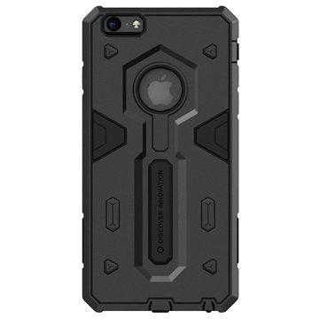 iPhone 6 Plus / 6S Plus Nillkin Defender II Serie Hybride Cover Zwart