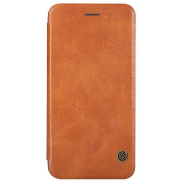 iPhone 6 Plus / 6S Plus Nillkin Qin Series Flip Case Bruin