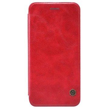 iPhone 6 Plus / 6S Plus Nillkin Qin Series Flip Case Rood