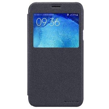 Samsung Galaxy J5 Nillkin Sparkle Series Smart View Flip Case Zwart