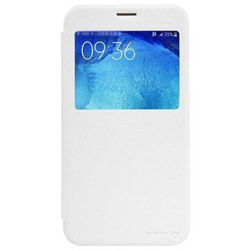 Samsung Galaxy J5 Nillkin Sparkle Series Smart View Flip Case Wit