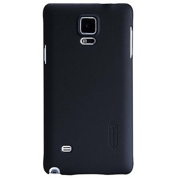 Samsung Galaxy Note 4 Nillkin Super Frosted Shield Cover Zwart