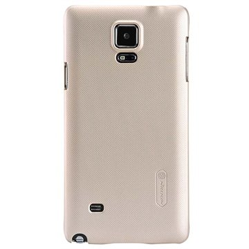 Samsung Galaxy Note 4 Nillkin Super Frosted Shield Cover Goud