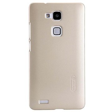 Huawei Ascend Mate7 Nillkin Super Frosted Shield Cover Champagne Goud