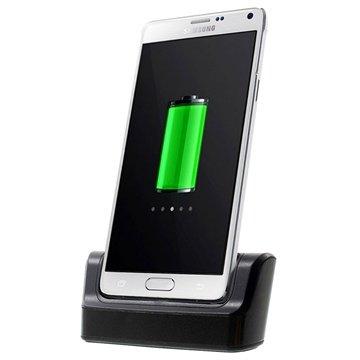Samsung Galaxy Note 4 OTG Bureauhouder Zwart