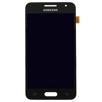 Originele samsung galaxy core ii lcd display   zwart incl. displayglas, touchscreen, home knop.