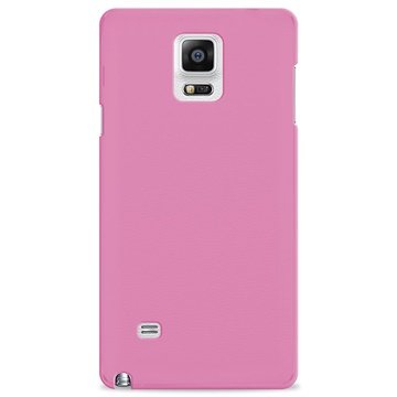 Samsung Galaxy Note 4 Puro 0.3 Ultra Dunne Siliconen Hoes Roze