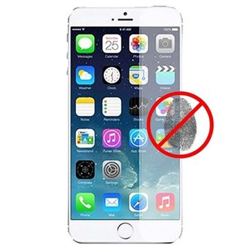 iPhone 6 Plus / 6S Plus Puro Displayfolie Anti-Fingerprints