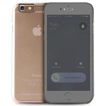 iPhone 6 Plus Puro Sense Flip Case Doorzichtig