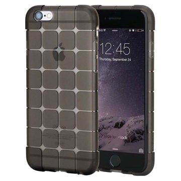 iPhone 6 Plus / 6S Plus Rock Cubee Series TPU Case Zwart