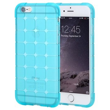 iPhone 6 Plus / 6S Plus Rock Cubee Series TPU Case Blauw