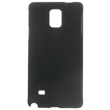 Samsung Galaxy Note 4 Gerubberiseerd Cover Zwart