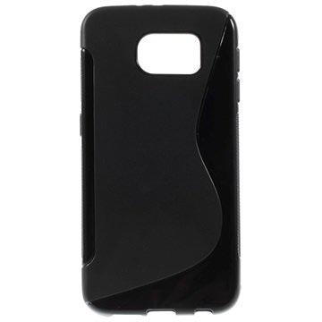Samsung Galaxy S6 S-Curve TPU Case Zwart