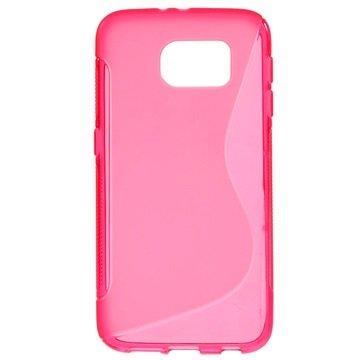 Samsung Galaxy S6 S-Curve TPU Case Hot Pink