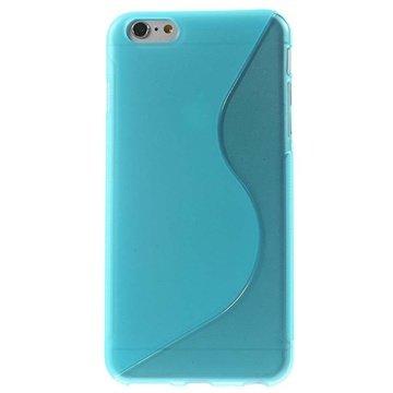 iPhone 6 Plus / 6S Plus S-Curve TPU Case Blauw