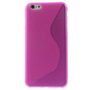 iPhone 6 Plus / 6S Plus S-Curve TPU Case Hot Pink