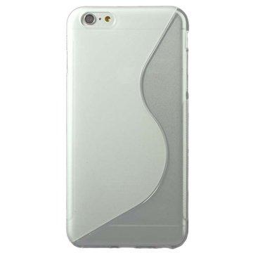 iPhone 6 Plus / 6S Plus S-Curve TPU Case Doorzichtig