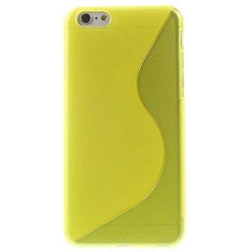 iPhone 6 Plus / 6S Plus S-Curve TPU Case Geel