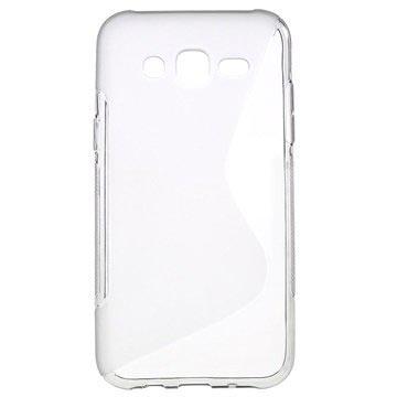 Samsung Galaxy J5 S-Curve TPU Case Doorzichtig