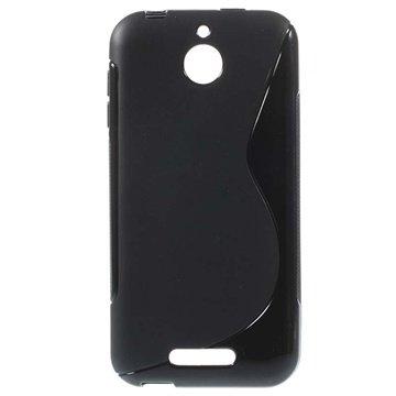 HTC Desire 510 S-Curve TPU Case Zwart