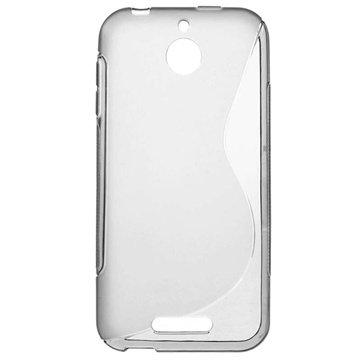 HTC Desire 510 S-Curve TPU Case Grijs