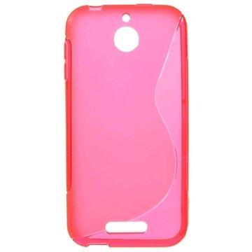 HTC Desire 510 S-Curve TPU Case Hot Pink