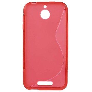 HTC Desire 510 S-Curve TPU Case Rood