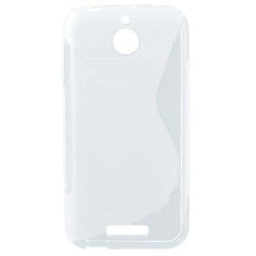 HTC Desire 510 S-Curve TPU Case Doorzichtig