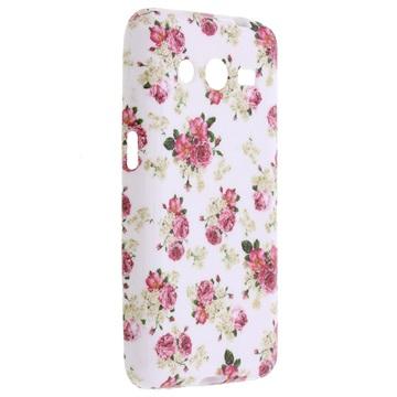 Tpu case voor samsung galaxy core ii   rozen  breng uw toestel tot leven met deze kleurrijke tpu case....