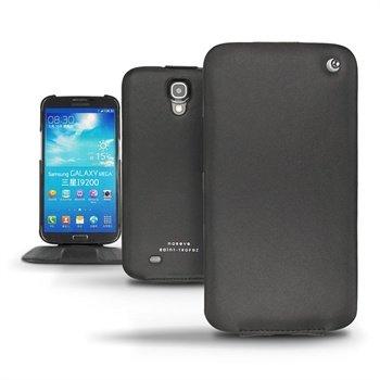 Samsung Galaxy Mega 6.3 I9200 Noreve Tradition Flip Leren Case Zwart