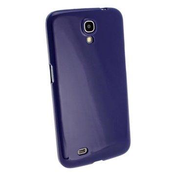 Samsung Galaxy Mega 6.3 I9200 iGadgitz Crystal TPU Case Blauw